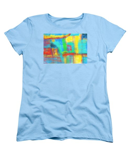 Women's T-Shirt (Standard Cut) featuring the painting A Yellow Day by Susan Stone