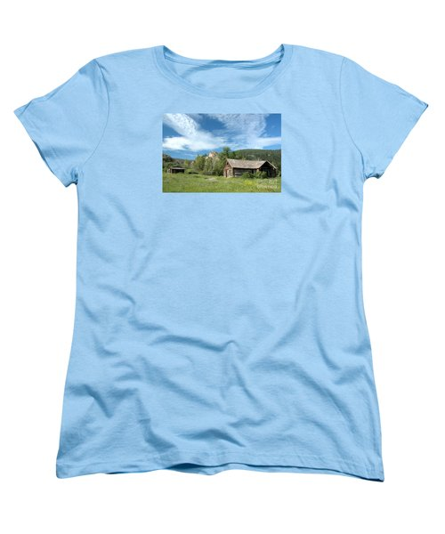 Abandoned Cabin Women's T-Shirt (Standard Cut)