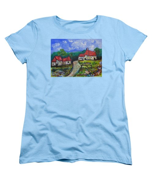 Abandoned Farm Women's T-Shirt (Standard Cut) by Clyde J Kell