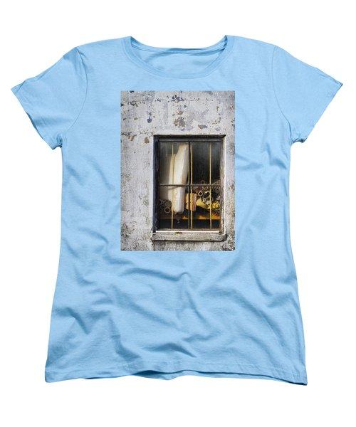 Abandoned Remnants Ala Grunge Women's T-Shirt (Standard Cut) by Kathy Clark