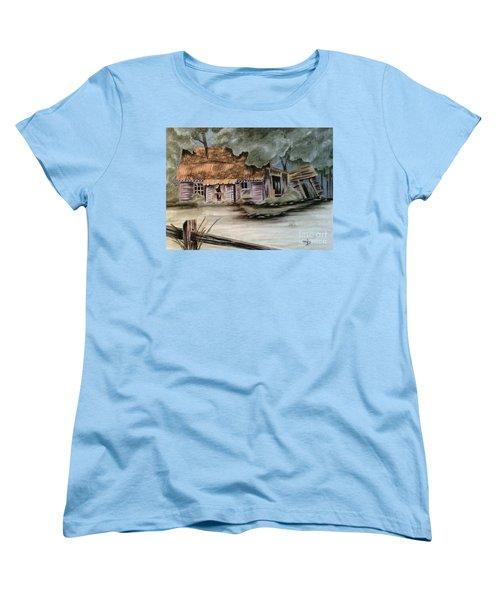 Abandoned Women's T-Shirt (Standard Cut) by Terri Mills