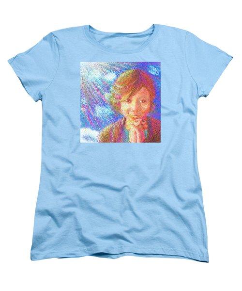 Abiding In Faith Women's T-Shirt (Standard Cut) by Hidden Mountain