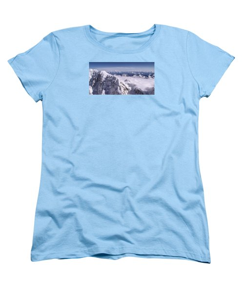 Above Denali Women's T-Shirt (Standard Fit)
