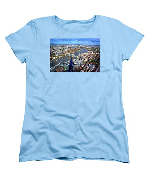 Above The Shadow Of The Shard Women's T-Shirt (Standard Cut) by Jim Albritton