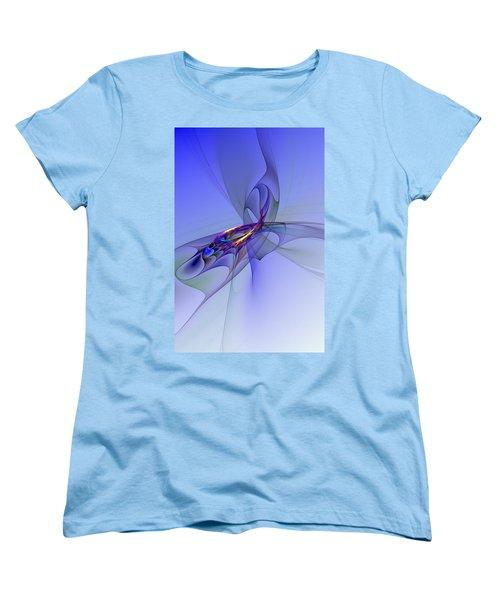 Abstract 110210 Women's T-Shirt (Standard Cut)