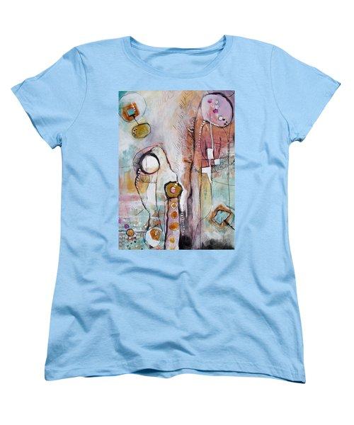 Abstract 39 Women's T-Shirt (Standard Cut) by Karin Husty