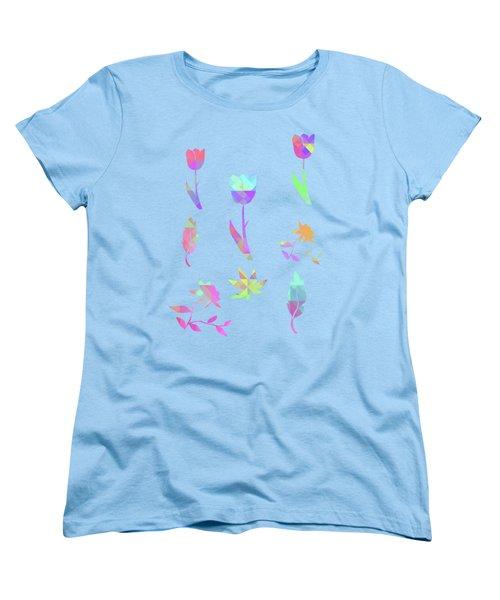 Abstract 433 Women's T-Shirt (Standard Cut) by Judi Suni Hall