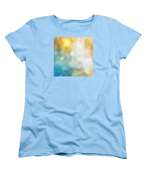 Abstract Bokeh Women's T-Shirt (Standard Cut) by Atiketta Sangasaeng