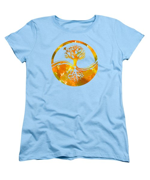 Women's T-Shirt (Standard Cut) featuring the photograph Abstract I by Christina Rollo