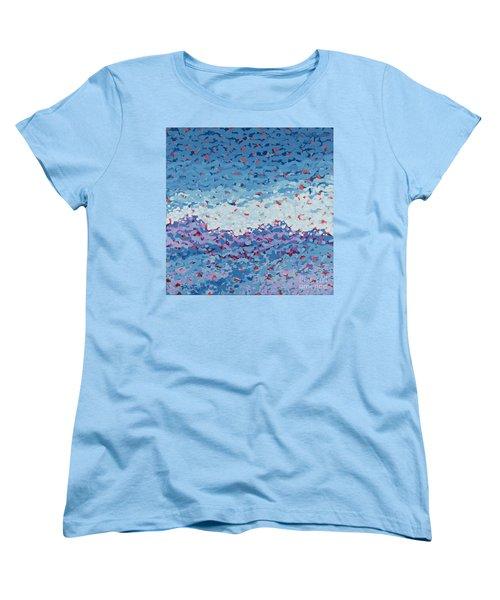 Abstract Landscape Painting 1 Women's T-Shirt (Standard Cut) by Gordon Punt