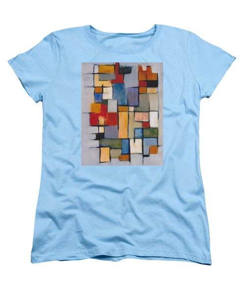 Abstract Line Series  Women's T-Shirt (Standard Cut) by Patricia Cleasby
