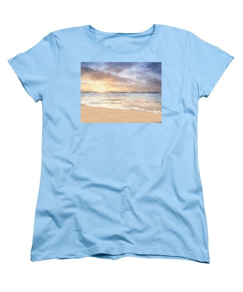 Abstract Morning Tide Women's T-Shirt (Standard Cut) by Anthony Fishburne