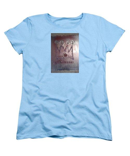Abstract Princess Dreams Of Grandeur Women's T-Shirt (Standard Cut) by Talisa Hartley