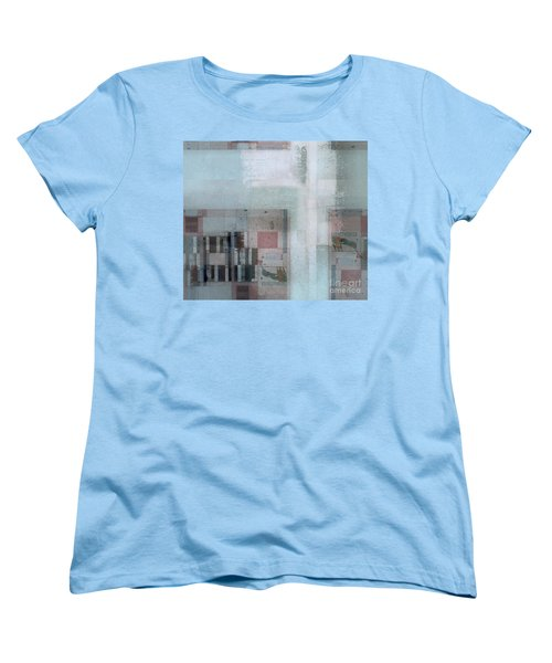 Women's T-Shirt (Standard Cut) featuring the digital art Abstractitude - C7 by Variance Collections