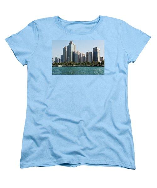 Abu Dhabi Women's T-Shirt (Standard Cut) by Hanza Turgul