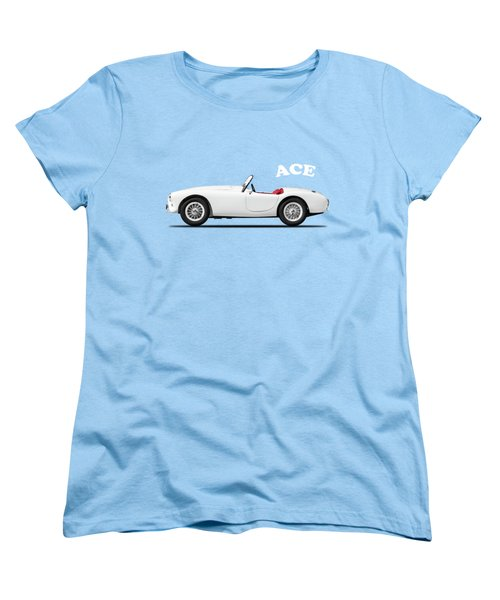 Ac Ace Women's T-Shirt (Standard Cut) by Mark Rogan