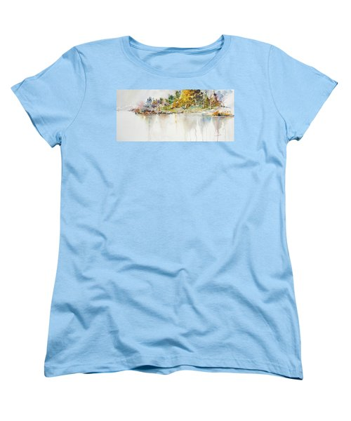 Across The Pond Women's T-Shirt (Standard Cut) by P Anthony Visco