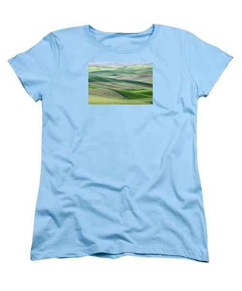 Across The Valley Women's T-Shirt (Standard Cut)