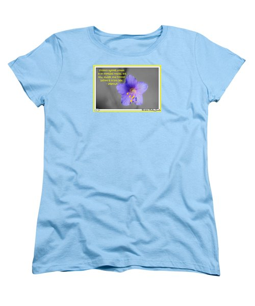 Women's T-Shirt (Standard Cut) featuring the digital art Act Now And Forever by Holley Jacobs