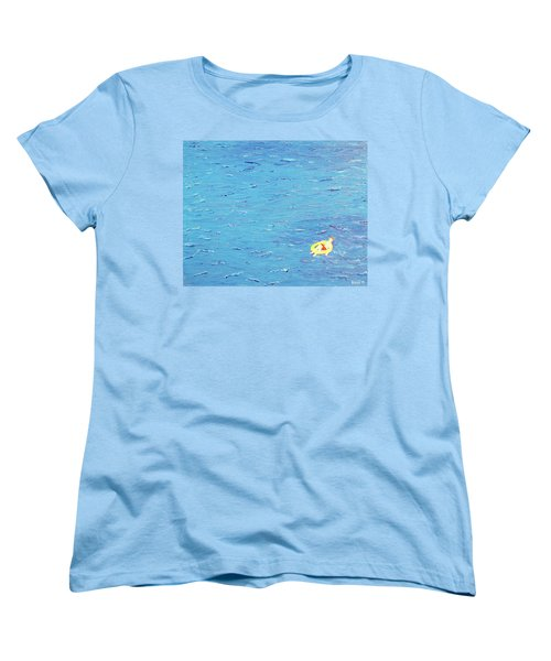 Adrift Women's T-Shirt (Standard Cut) by Thomas Blood