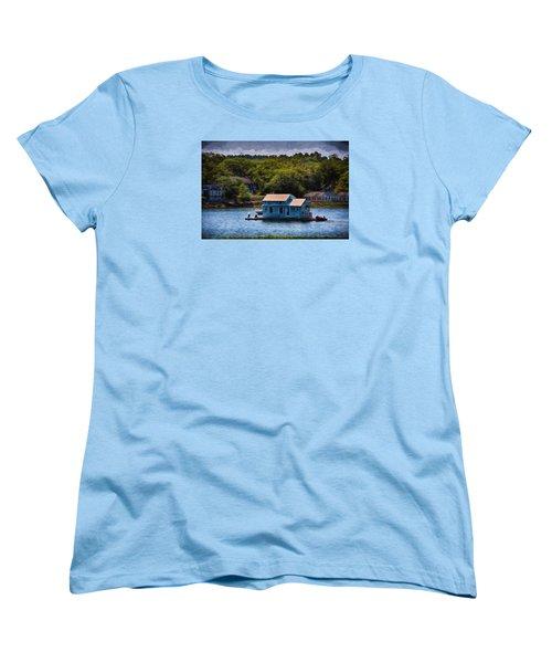 Afloat Women's T-Shirt (Standard Cut) by Tricia Marchlik