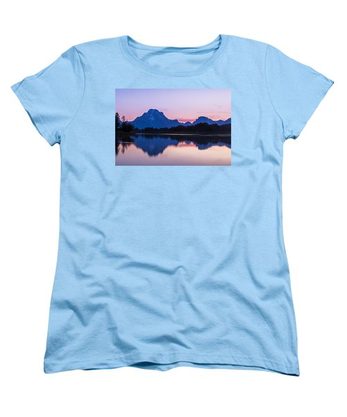 Women's T-Shirt (Standard Cut) featuring the photograph After Glow by Andrew Soundarajan