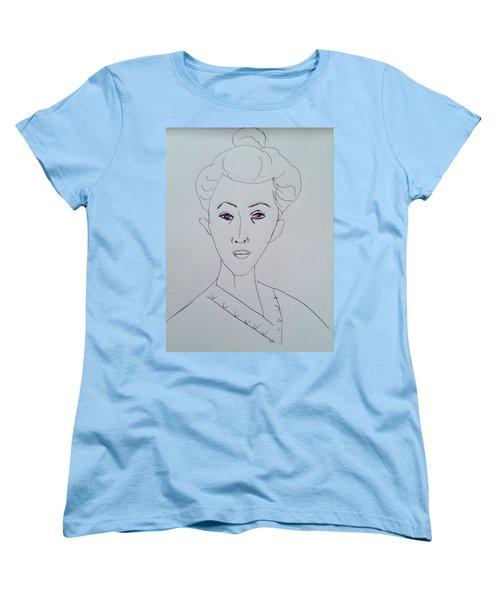 After Matisse  Women's T-Shirt (Standard Cut) by Hae Kim