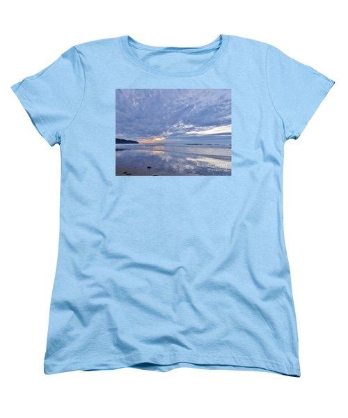 Moonlight After Sunset Women's T-Shirt (Standard Cut) by Michele Penner
