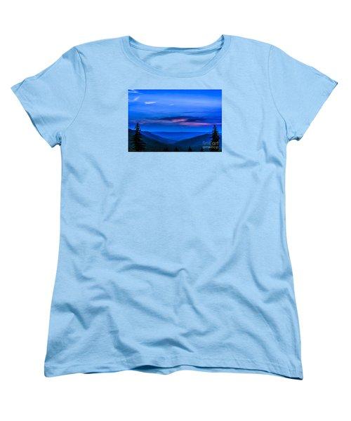 After Sunset Women's T-Shirt (Standard Cut) by Thomas R Fletcher