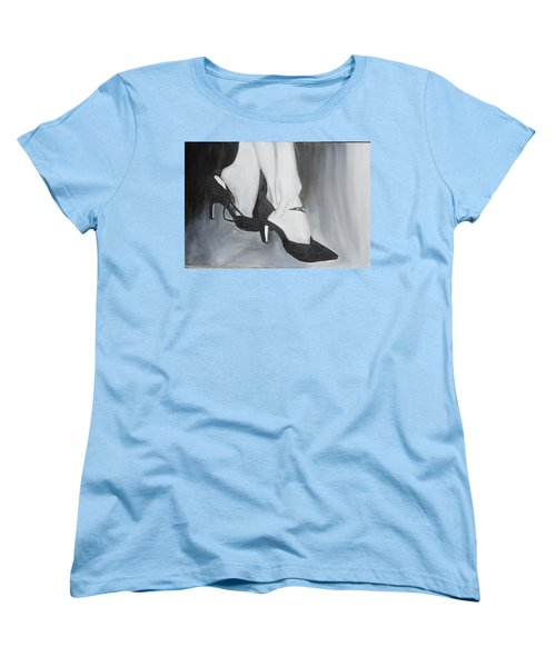 Women's T-Shirt (Standard Cut) featuring the painting After The Dance by Keith Thue