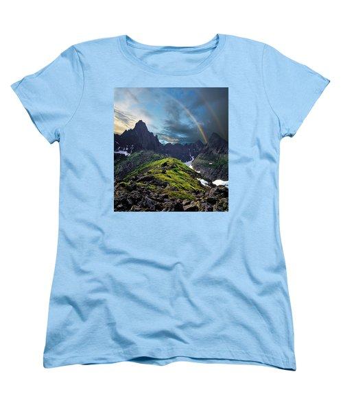 After The Rain Storm Women's T-Shirt (Standard Cut) by Vladimir Kholostykh