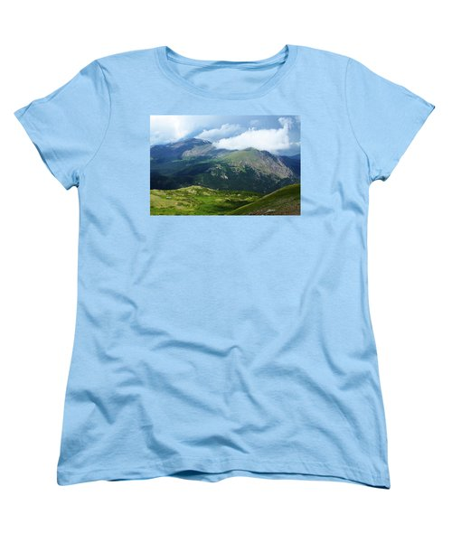 Women's T-Shirt (Standard Cut) featuring the photograph After The Storm by Marie Leslie