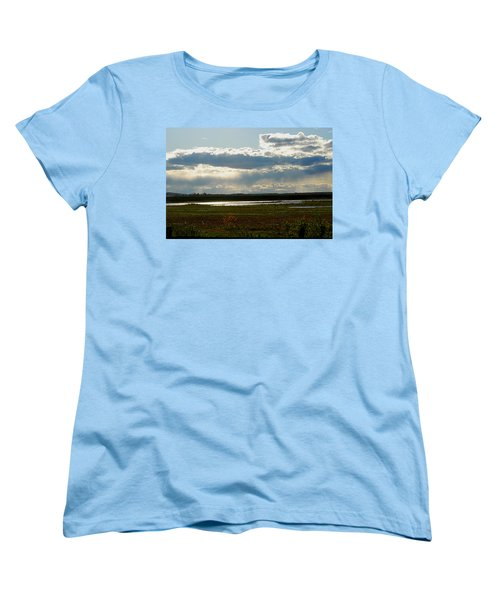After The Storm Women's T-Shirt (Standard Cut) by Nancy Landry