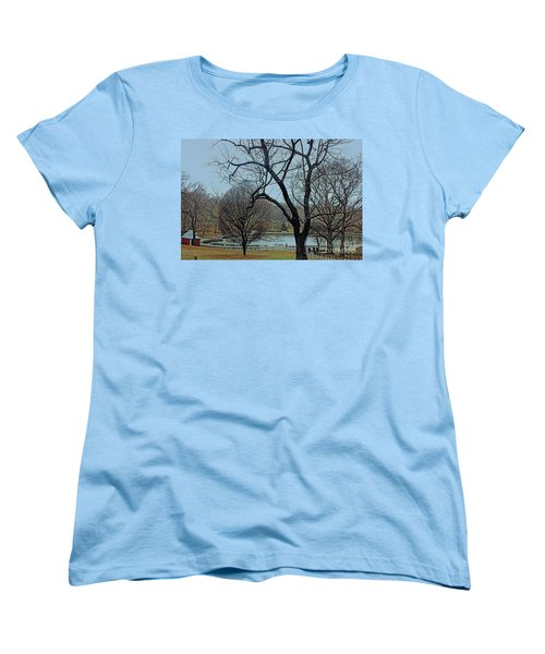 Afternoon In The Park Women's T-Shirt (Standard Cut) by Sandy Moulder