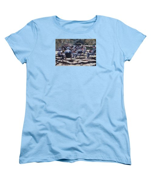 Afternoon Pickers Women's T-Shirt (Standard Cut) by Richard Willson