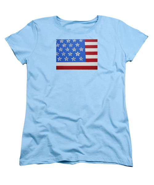Agitate Women's T-Shirt (Standard Cut) by Otis L Stanley