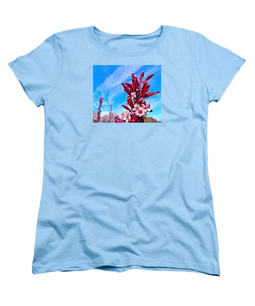 Aglow With Beauty Women's T-Shirt (Standard Cut) by Randy Rosenberger