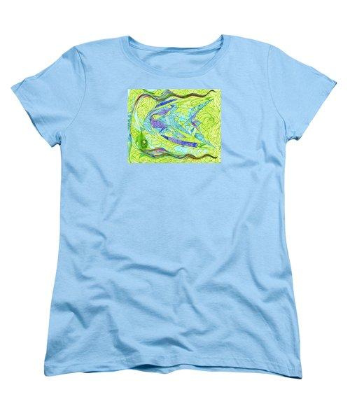 Aigikampos Women's T-Shirt (Standard Cut) by Robert Nickologianis