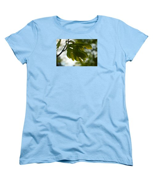 Air And Breeze Women's T-Shirt (Standard Cut) by Tina M Wenger