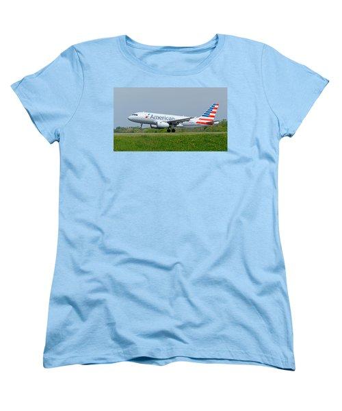 Airbus A319 Women's T-Shirt (Standard Cut) by Guy Whiteley