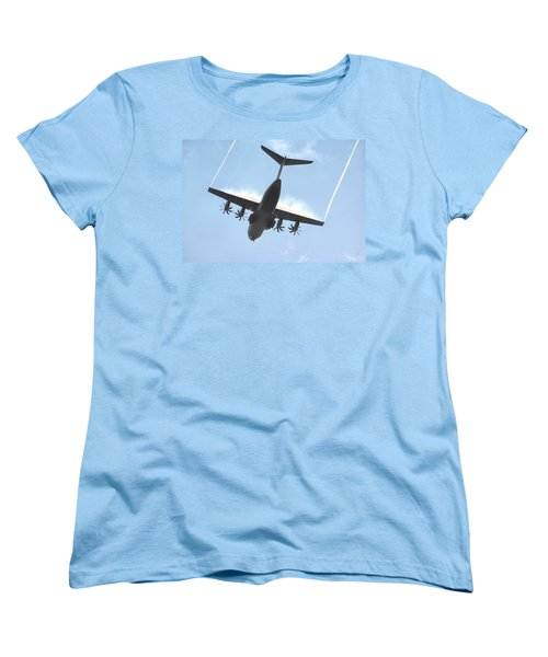 Airbus A400m Women's T-Shirt (Standard Cut) by Tim Beach