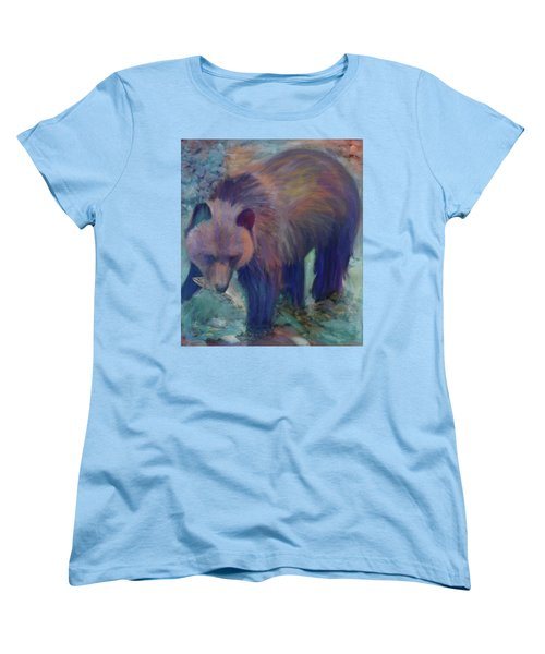 Alaska Bear  Women's T-Shirt (Standard Cut) by Julianne Ososke