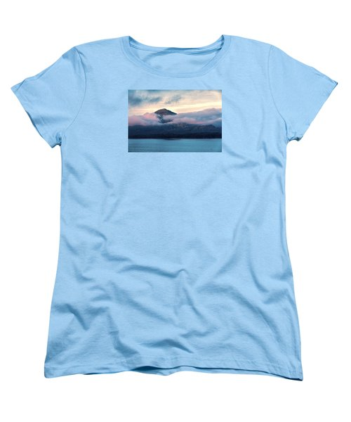 Women's T-Shirt (Standard Cut) featuring the photograph Alaska Dawn 2 by Lewis Mann