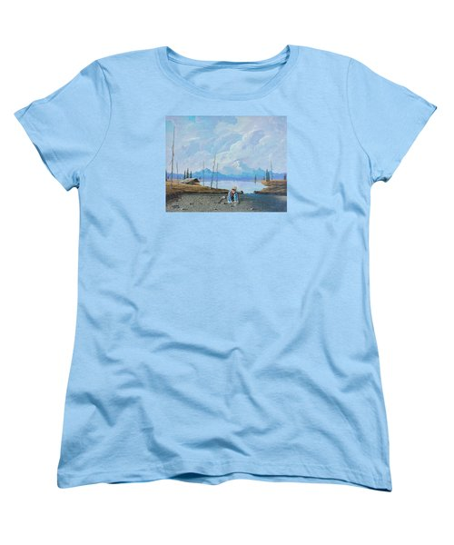 Alaskan Atm Women's T-Shirt (Standard Cut) by Richard Faulkner