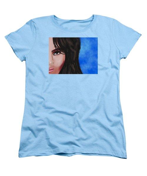 Alba  Women's T-Shirt (Standard Cut) by Mathieu Lalonde