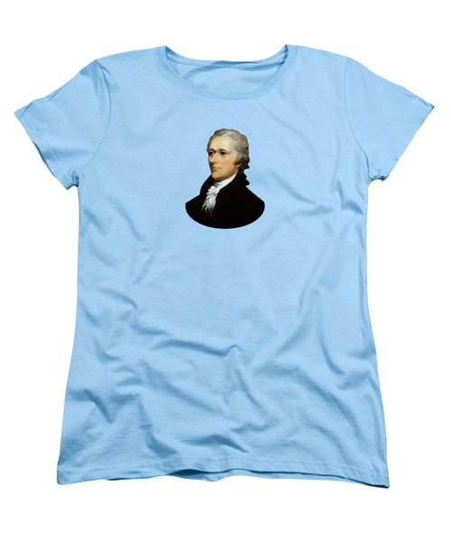 Alexander Hamilton Women's T-Shirt (Standard Cut) by War Is Hell Store