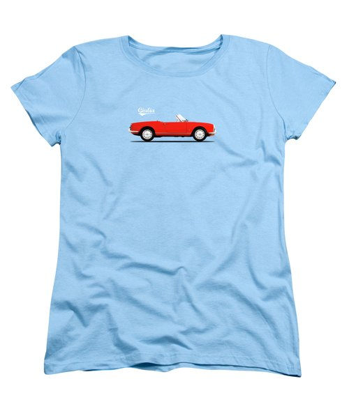 Alfa Giulia Spider 1964 Women's T-Shirt (Standard Cut) by Mark Rogan