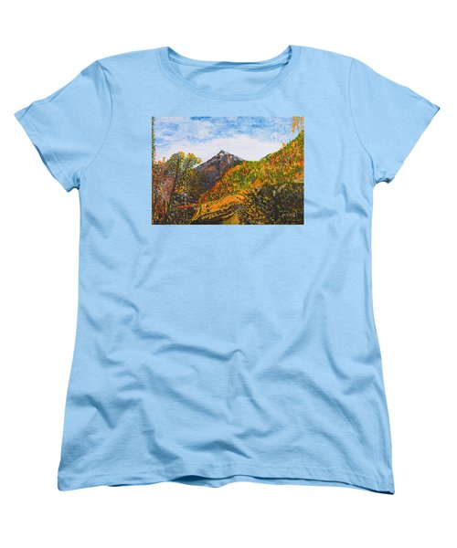 Algund View Women's T-Shirt (Standard Cut) by Valerie Ornstein