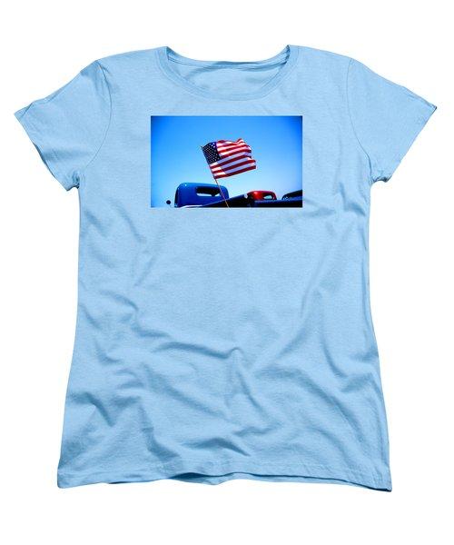 All American Women's T-Shirt (Standard Cut) by Ralph Vazquez
