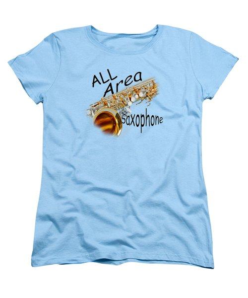 All Area Saxophone Women's T-Shirt (Standard Cut)